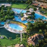 The Phoenician aerial view of the pools