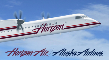 Horizon Air lands in Flagstaff and Prescott beginning June & Sept 2008
